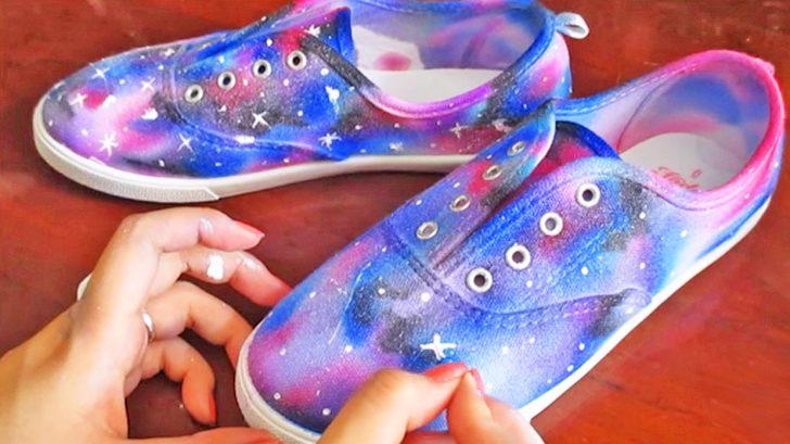 Galaxy Shoes So Cheap \u0026 Easy To Make