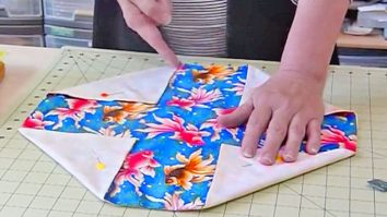 Easy Sewing Projects Lotus Bag
