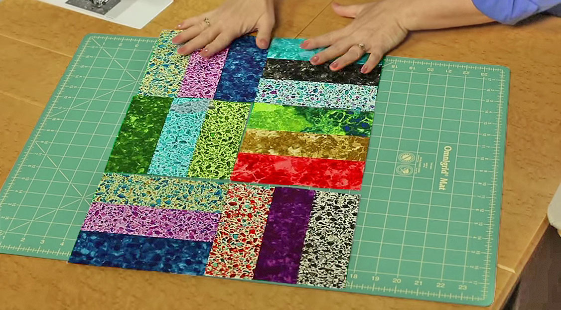 Practice An Essential Quilting Technique With The Rail