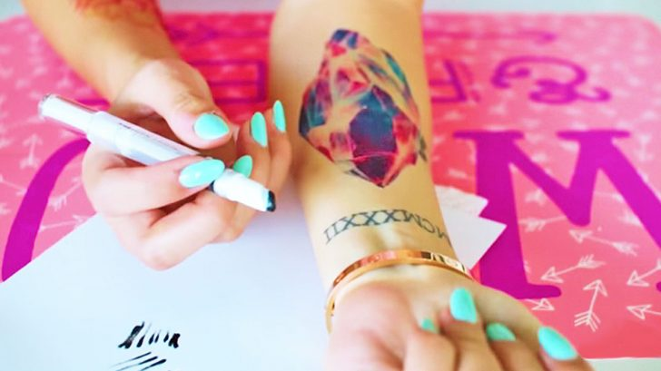 3 Methods To Making Temporary Tattoos That Prove They\'re Just As ...