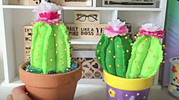 Sewing Tutorial - Cacti Pin Cushions