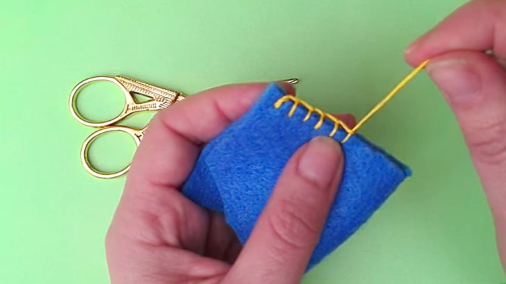 Back To Basics: Learn The Blanket Stitch – DIY Ways