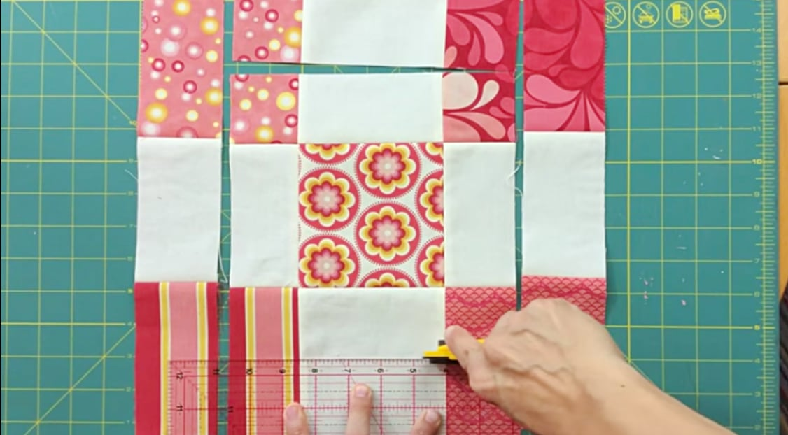 Double Disappearing 9 Patches Are The Most Versatile Quilt