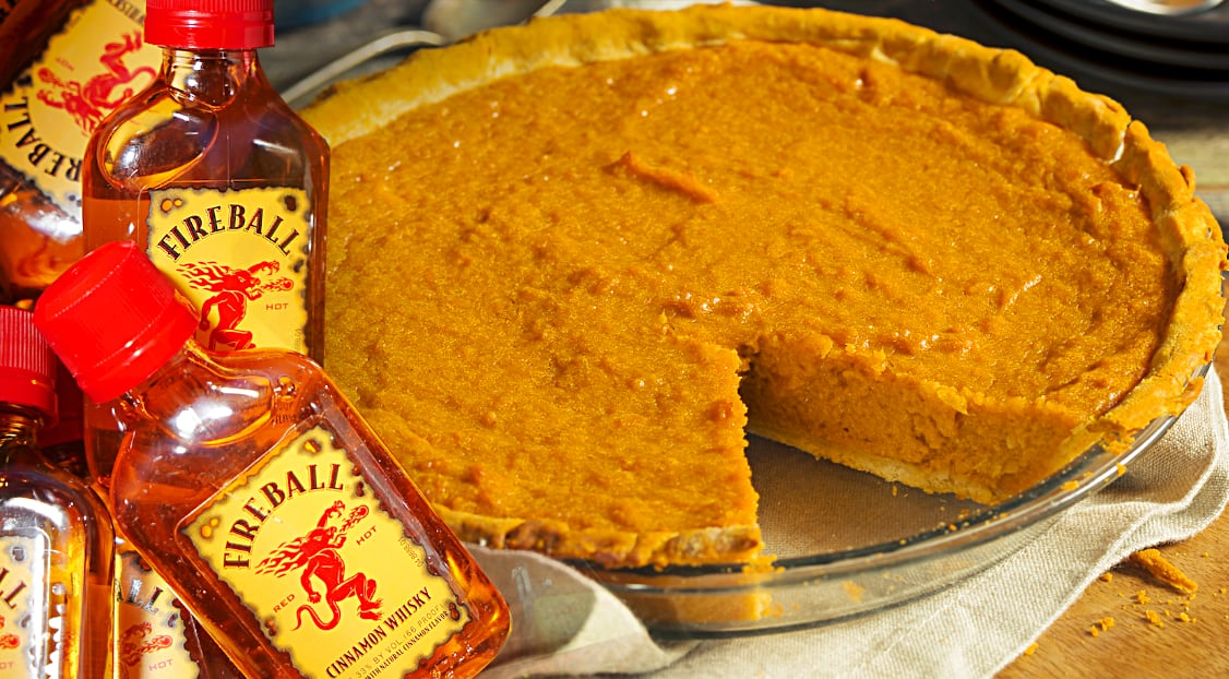 Fireball Whisky Pumpkin Pie Leaves All Other Pies In The Dust