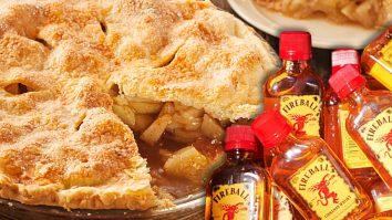 Fireball Whisky Apple Pie Recipe