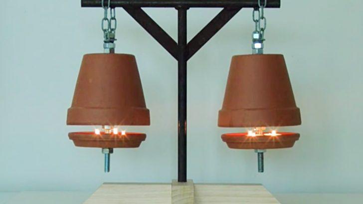 DIY Ways & Simple DIY Flower Pot Heaters Keep You Warm For Cheap \u2013 DIY Ways