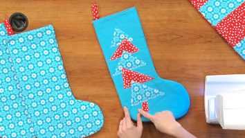 Sewing Tutorial: DIY Christmas Stockings