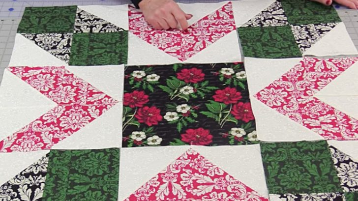 Christmas Quilt Sewing Tutorial