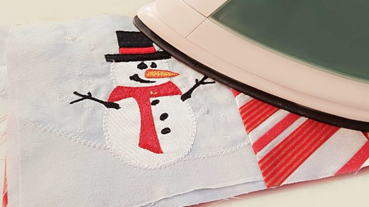 Sewing Tutorial - Snowman Mug Coasters
