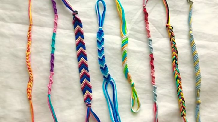 Easy Friendship Bracelets Are A Great Craft For The Whole