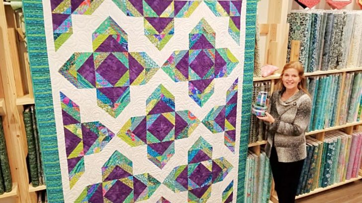 Sew An Easy Lotus Blossom Quilt To Get Ready For Spring