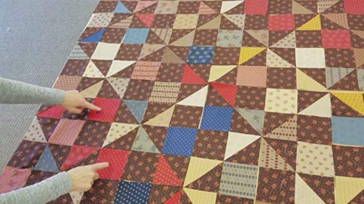 cozy Quilt Design Pinwheel charm Quilt pattern