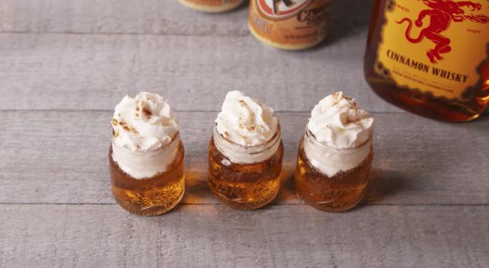 Indulge On A Budget With 2-Ingredient Fireball Cinnamon Roll Shots – DIY Ways