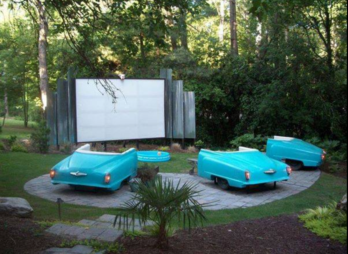 This Cheap Backyard Movie Theater Is Summer S Ultimate Diy Diy Ways