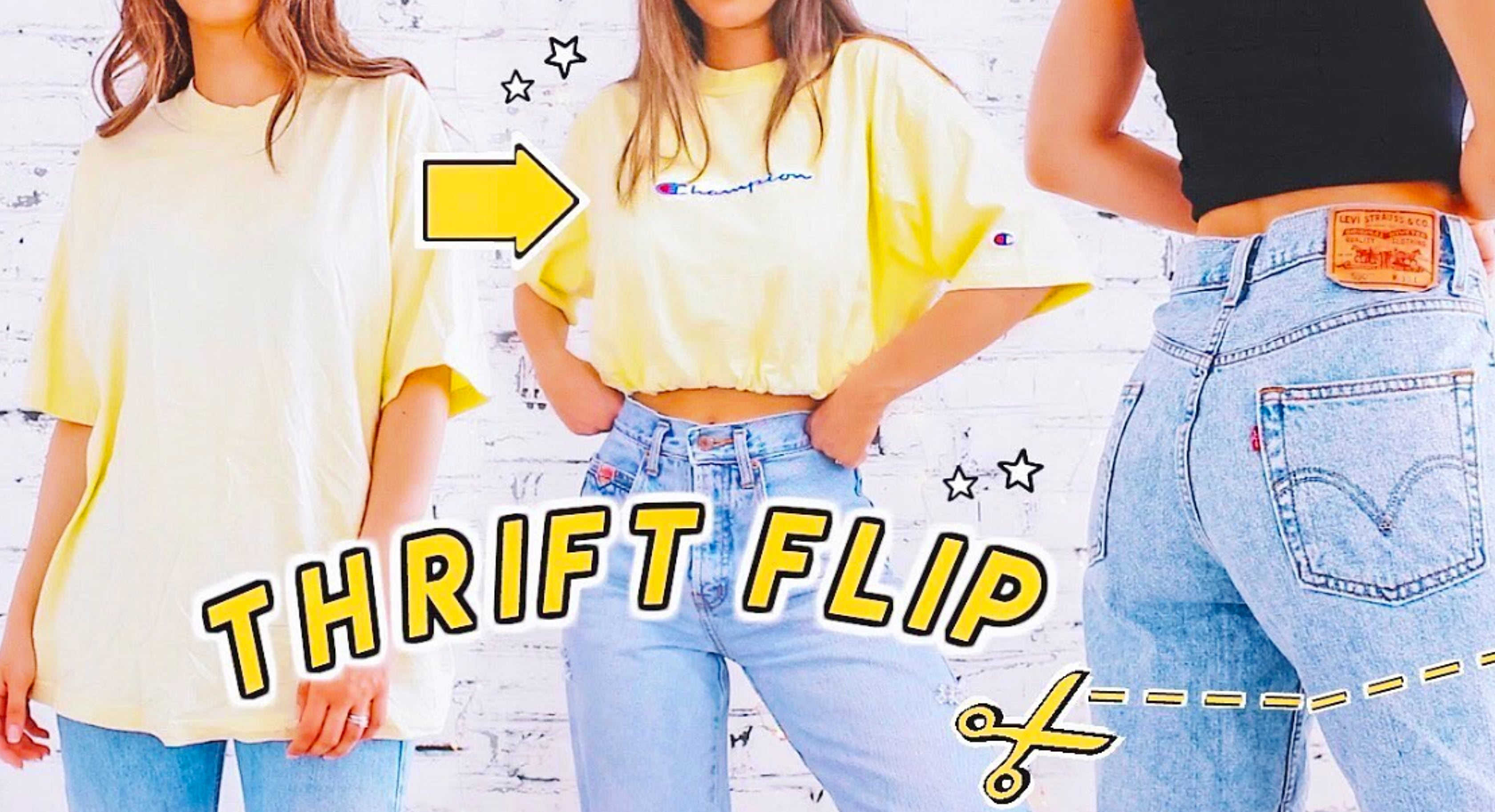 Transform Thrift Store Clothes Into The Outfit Of Your Dreams