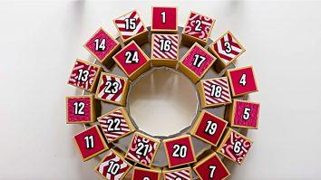 Learn to make a cheap easy DIY Advent Calendar