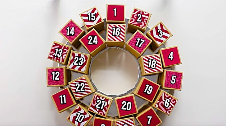 Diy Advent Calendar Wreath Diy Ways