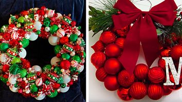 DIY Christmas Decorations Cheap - How to Make a Christmas Ornament Wreath