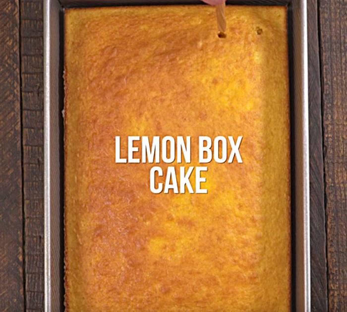 You will love this Blueberry Lemon Poke Cake Recipe this Christmas