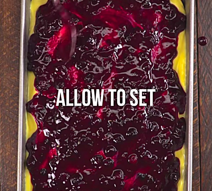 Delicious easy, quick Blueberry Lemon Poke Cake Recipe