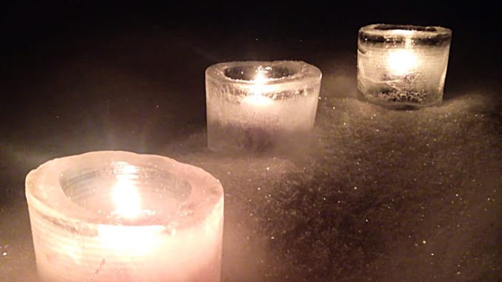 Learn to make DIY Ice Lanterns this Winter