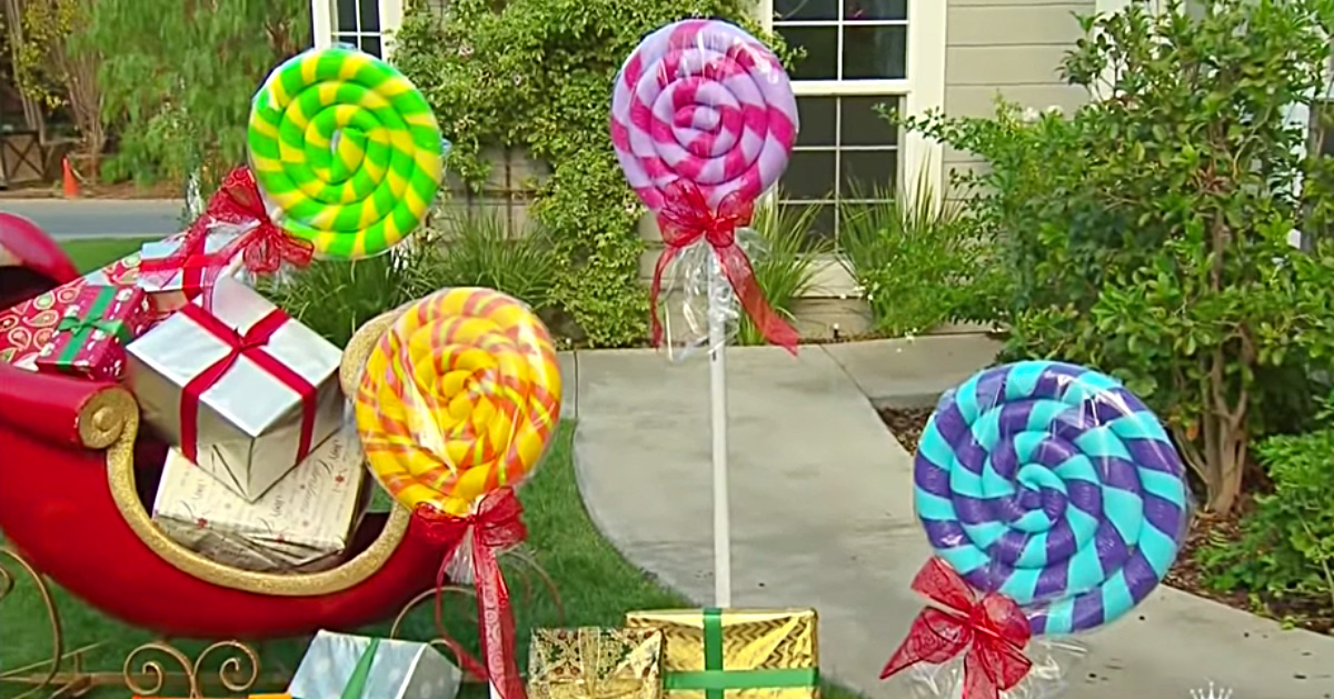 Try Diy Pool Noodle Lollipops For The Holidays Diy Ways