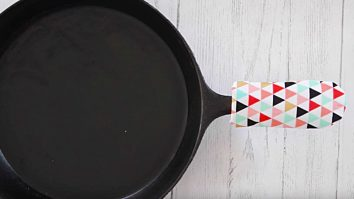 Learn to sew a DIY skillet handle