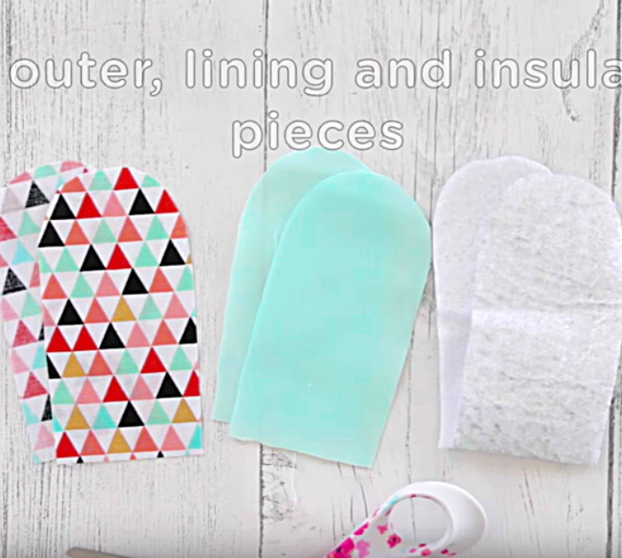 Learn to Sew A DIY Skillet Handle out of scrap fabric or jellyrolls