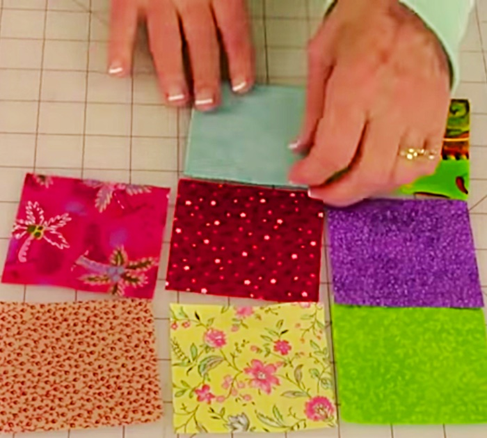 Learn to sew an easy quick cheap scrappy quilt 10 minute pot holder