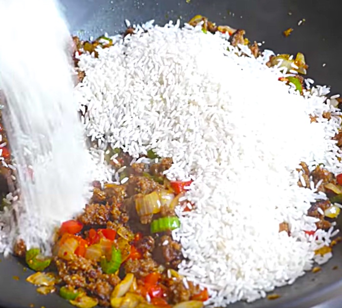 Try making this quick easy Cajun Dirty Rice Recipe for dinner