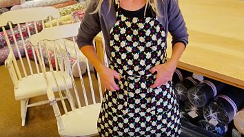 Learn to make an apron by making your own pattern
