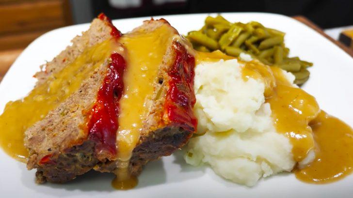 Cajun Meatloaf and Cajun Gravy Recipe | Homemade Recipes