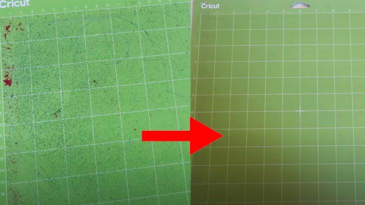 How To Clean And Restick Cricut Mats | DIY Hacks