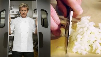 How To Finely Chop An Onion With Gordon Ramsay | Tips And Techniques
