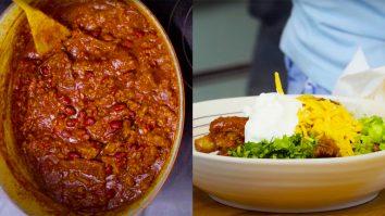 How To Make Beef and Pork Rib Chili | Homemade Recipes