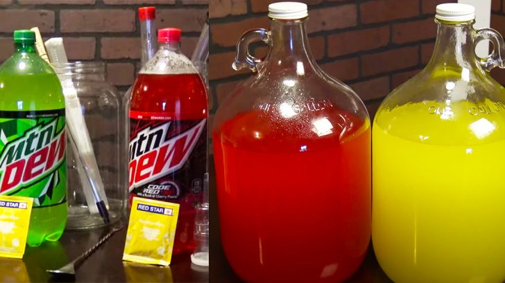 How To Make Mountain Dew Wine | Alcohol Recipes