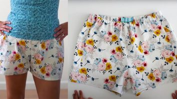 How To Sew Pajama Shorts | DIY Sewing