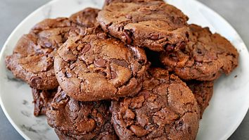 How To Make Double Chocolate Chip Gluten-Free Cookies