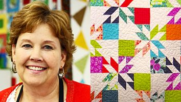 How To Make A Hunter's Star Quilt With Jenny Doan