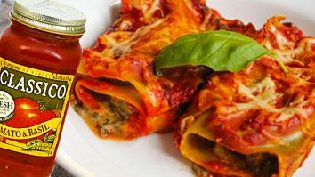 How To Make Homemade Lasagna Rolls