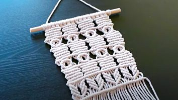 How To Make A Circles Macrame Wall Hanging