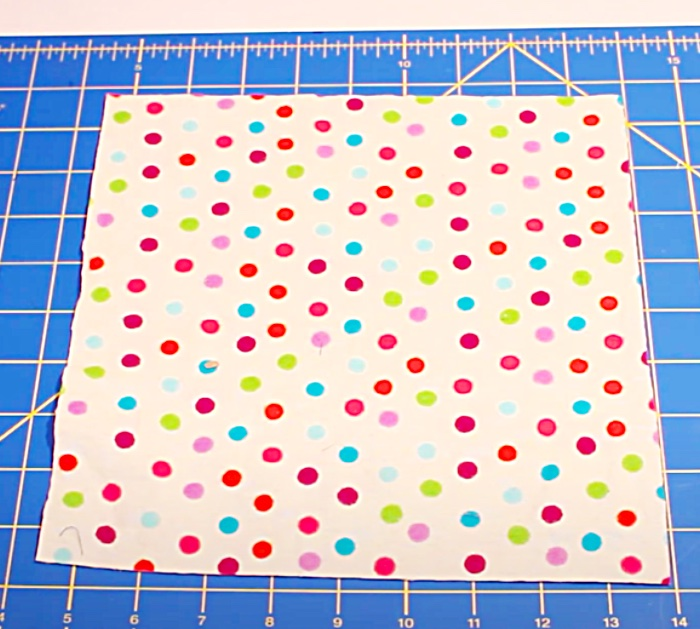 Make Fabric Squares For Paper Towels