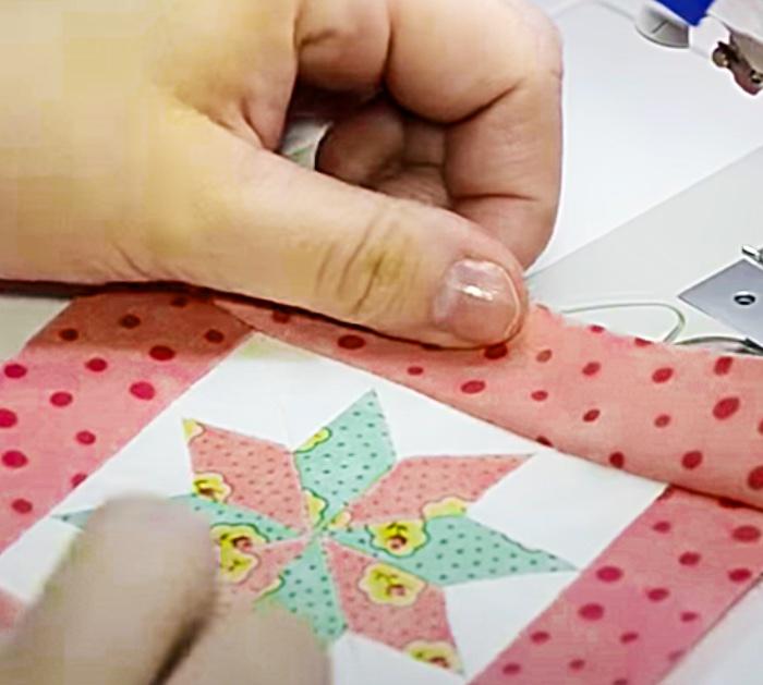 Use A Jelly Roll To Make A Lemoyne Star Set Of Coasters