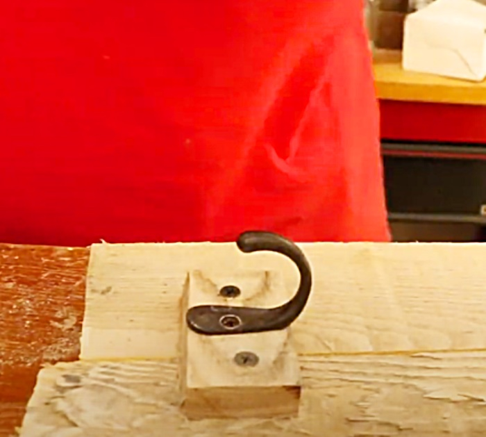 Use A Coat Hook To Make A Rustic Mason Jar Light Hanger