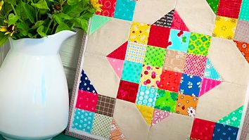 How To Make A Scrappy Crossroads Quilt Block