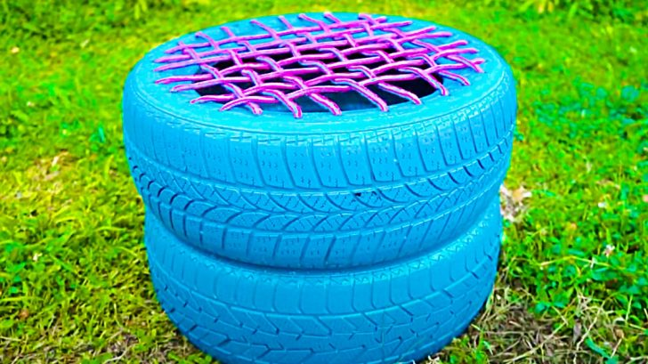 How To Make A DIY Tire Seat