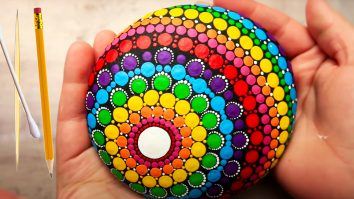 DIY Mandala Rock Painting | DIY Painting Crafts