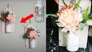 Dollar Tree DIY Mason Jar Sconces | Mason Jar Crafts