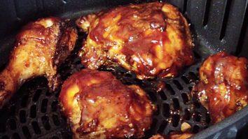 How To Make BBQ Chicken Legs In An Air Fryer
