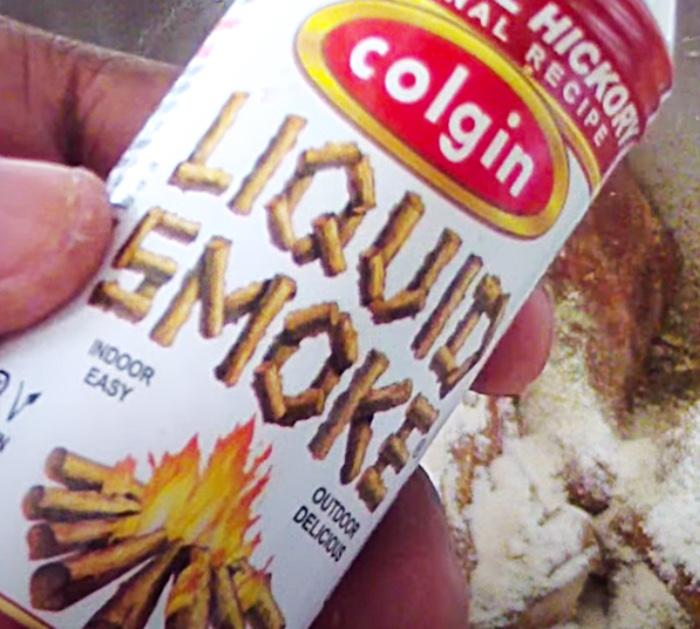 Add Liquid Smoke To Air Fryer BBQ Chicken